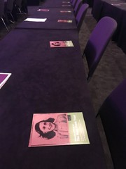 Anne Frank Trust stand.
